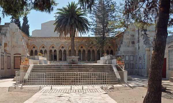 Jerusalém: a gruta do Pai Nosso