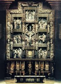 Retablul santuarului al sfintei Feciore Maria de la Torreciudad