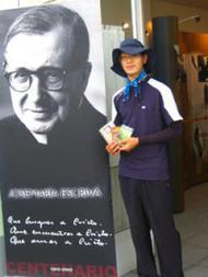 Unha axuda no Camiño. Exposición sobre San Xosemaría no Camiño de Santiago