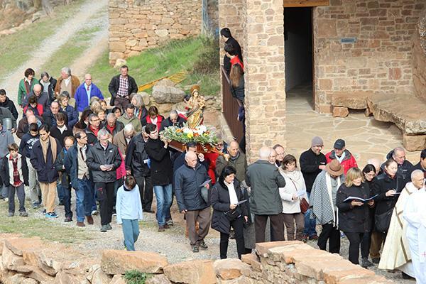 Recorden el pas de sant Josepmaria per Pallerols de Rialb