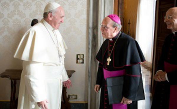 Brzojav pape Franje povodom smrti Prelata Opusa Dei