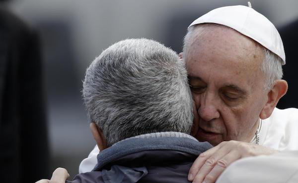 10 frasi di Papa Francesco sulla misericordia