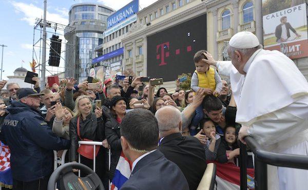 Viaggio apostolico di papa Francesco in Macedonia del Nord