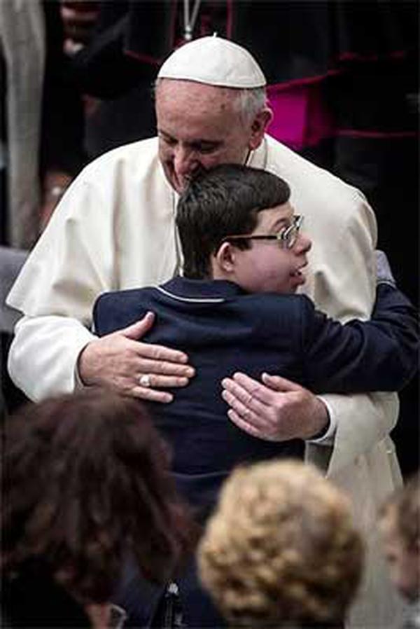 L'amour du pape