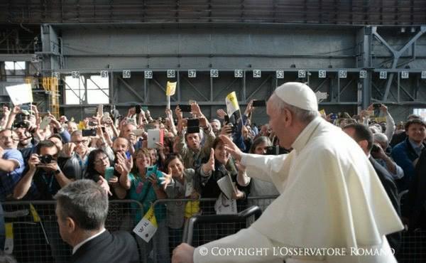 Opus Dei - El Papa Francisco habla al mundo del trabajo