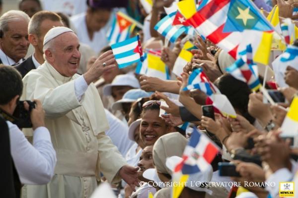 Le pape François à Cuba