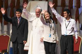 10 frases del Papa Francisco a los jóvenes de América Latina