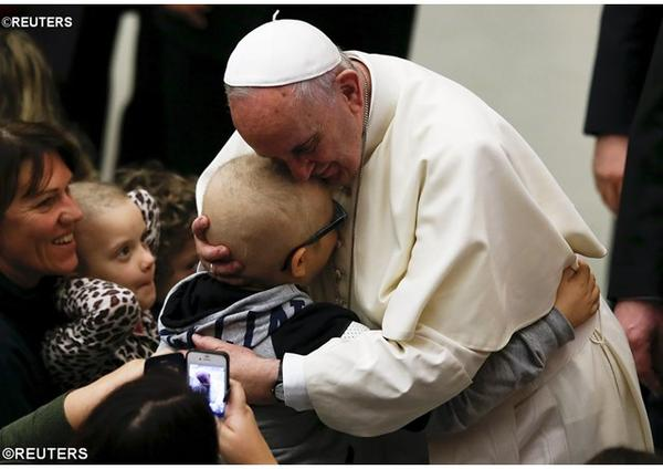 Prvá pápežová audiencia o roku milosrdenstva