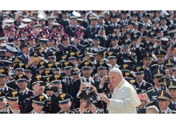 Pápežova audiencia o roku milosrdenstva (16. marca 2016)