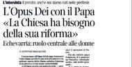 """""""La gente ha riconosciuto in papa Francesco un sacerdote autentico"""""""