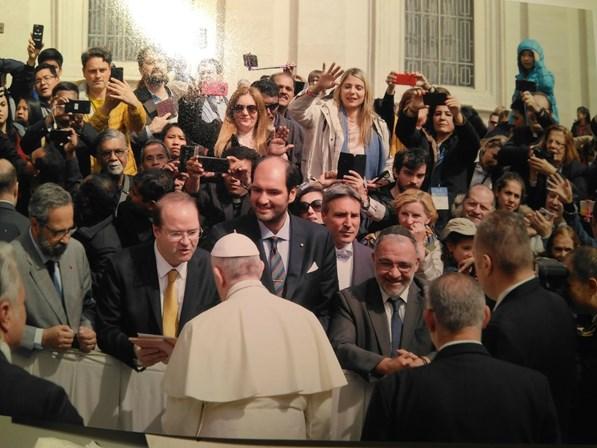 Opus Dei - Portugueses com o Papa nos Emirados Árabes Unidos
