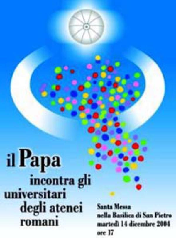 """El Papa a los universitarios: """"Buscad a Cristo"""""""