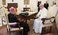 Papst Franziskus empfängt Prälaten des Opus Dei in Audienz
