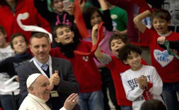 Il discorso del Papa alle famiglie numerose