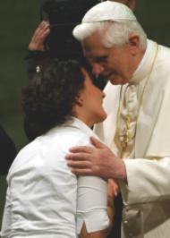 Papst Benedikt an die Jugend