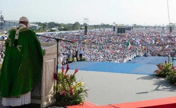 Papež na Světovém setkání mládeže v Panamě