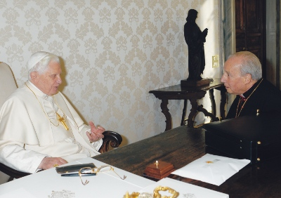 Audiencijų kabinete Vatikane.
