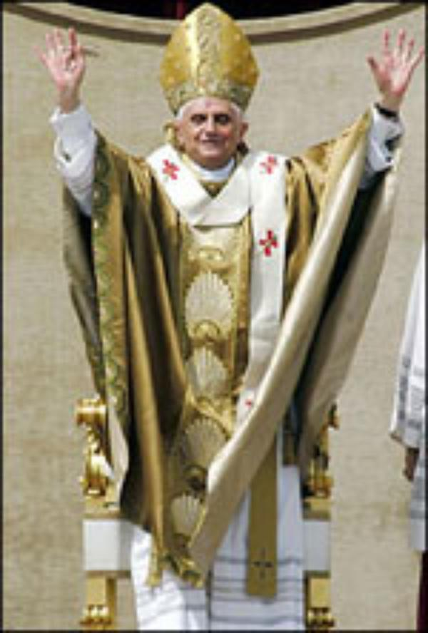 Benedict XVI, Vicar of Christ