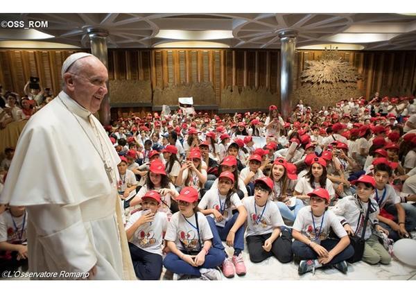 Pápežova audiencia o roku milosrdenstva (30. marca 2016)