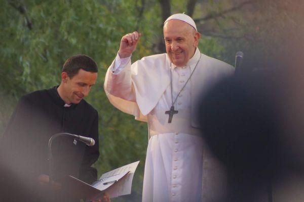 Príhovor pápeža Františka na stretnutí s mladými v Košiciach, 14.9.2021