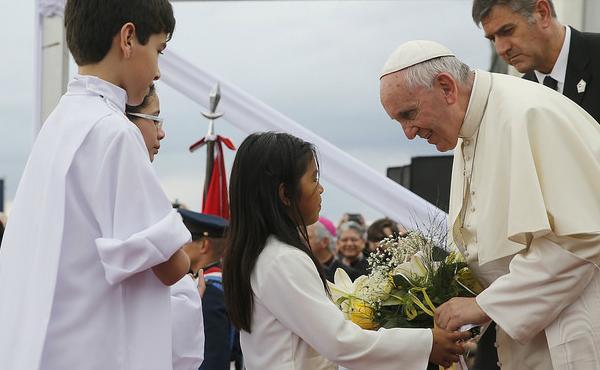 Opus Dei - Viaje del Papa Francisco a Ecuador, Bolivia y Paraguay
