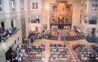Roma, 26 de junio 2003, parroquia de san Josemaría.