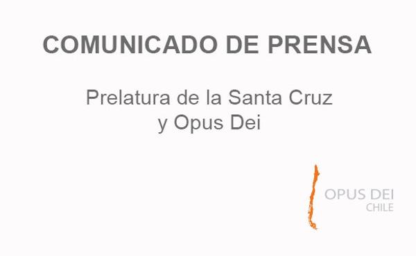 Opus Dei - Nota de prensa del Departamento de Comunicaciones
