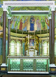 San Josemaría reposa en la Iglesia de Santa María de la Paz (Roma).