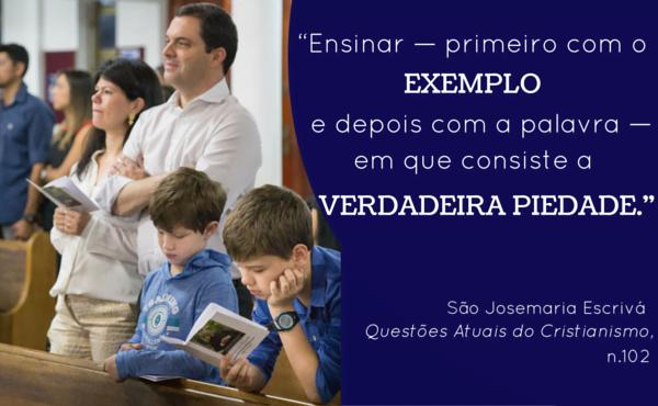 Opus Dei - Uma pedagogia da fé na família