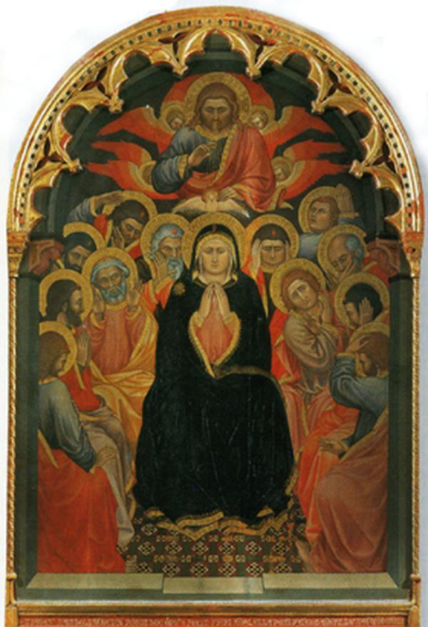 Die Herabkunft des Heiligen Geistes