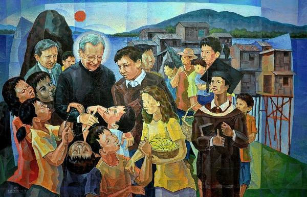 Blessed Alvaro del Portillo, a Marian pilgrim in the Philippines