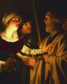 What was the relationship between Peter and Mary Magdalene?