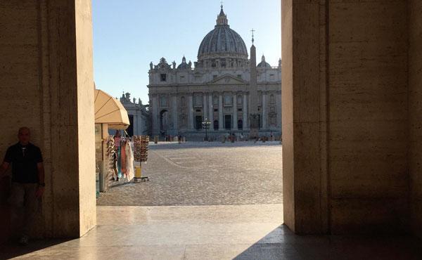 Kärlek till påven och Kyrkan