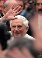 Benedicto XVI, que estos días viaja a México y Cuba.