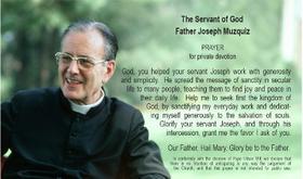 Prayer for Fr. Joseph Muzquiz's intercession