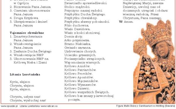 Opus Dei - PDF: Pielgrzymka majowa
