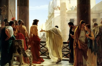 Le Christ condamné à mort par Pilate