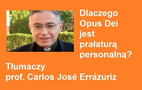 Opus Dei - Opus Dei, prałatura personalna
