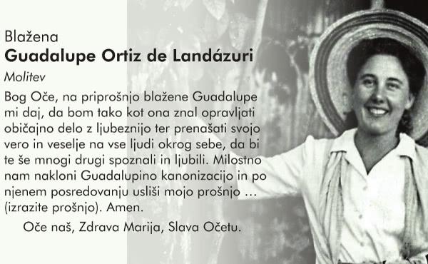 Opus Dei - Molitev h Guadalupe