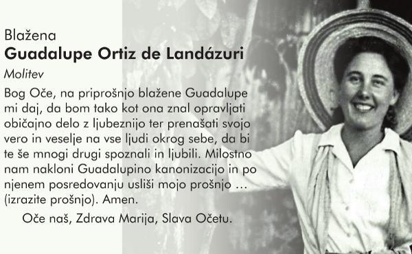 Molitev h Guadalupe