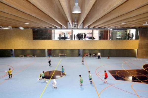 Galería fotográfica de la inauguración del Centro Deportivo y Cultural Niara, obra corporativa del Opus Dei en Valladolid
