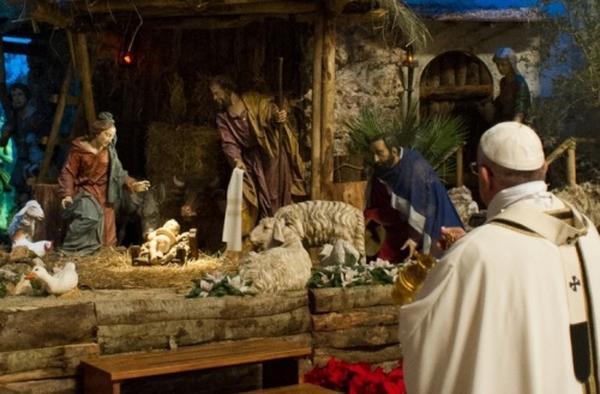 Papa Franjo: Sveta Obitelj jasan je primjer milosrđa