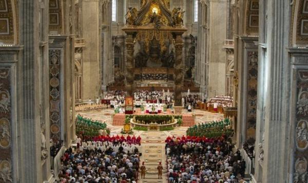Inauguration du synode pour la famille