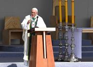 """Papa Francisco en Parque  O´Higgins: """"Sembrar la paz a golpe de proximidad, de vecindad"""""""