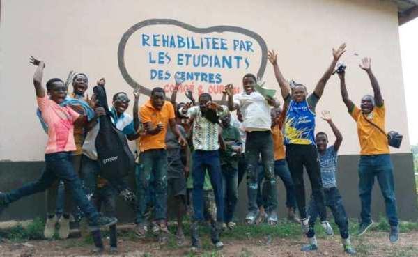 Les Etudiants Solidaires à Yakassé-Féyassé