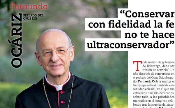 """Opus Dei - """"De kritiek op paus Franciscus doet mij pijn"""""""