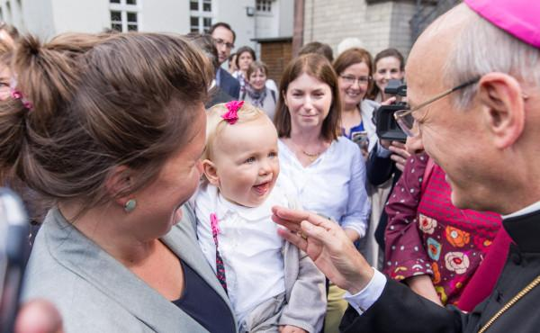 """O Prelado, na Alemanha: """"Sejamos instrumentos de unidade na Igreja e na própria família"""""""