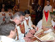 Homilía en las ordenaciones diaconales (noviembre 2012)