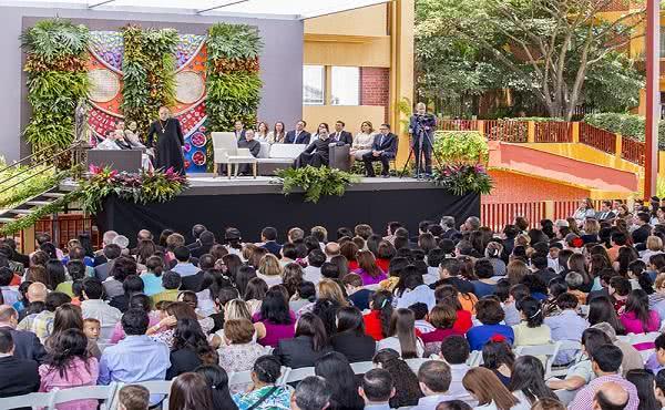 El Prelado en Tegucigalpa
