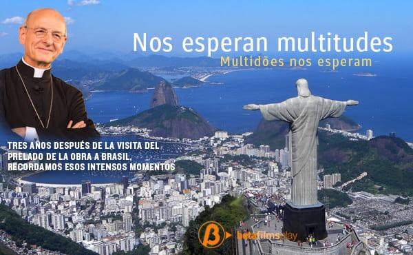Un documental sobre el viaje de Mons. Fernando Ocáriz a Brasil